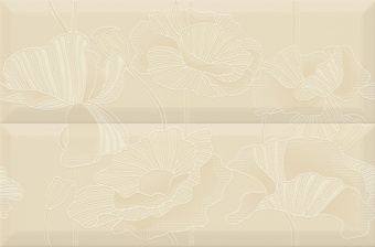 Composicion Gold, Flowers