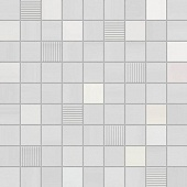 MOSAICO PLEASURE WHITE 31,6*31,6 (Мозаика) 1к-5шт